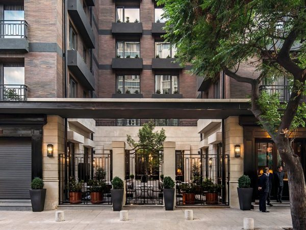 The Singular Hotel Santiago Exterior