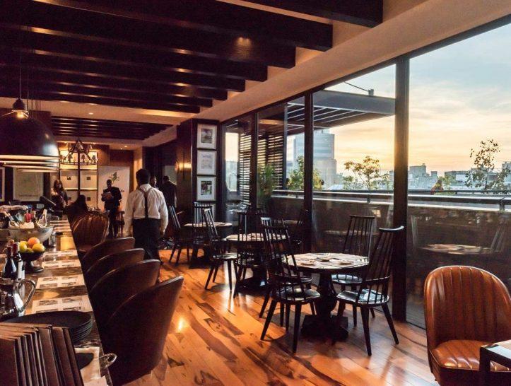 The Singular Hotel Santiago Rooftop Bar