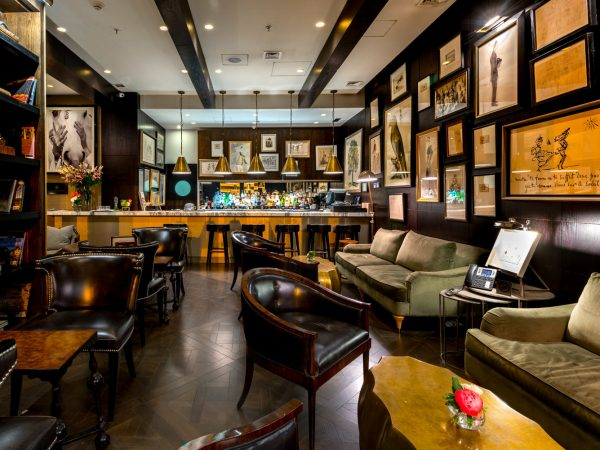 The Singular Santiago Lastarria Hotel Bar