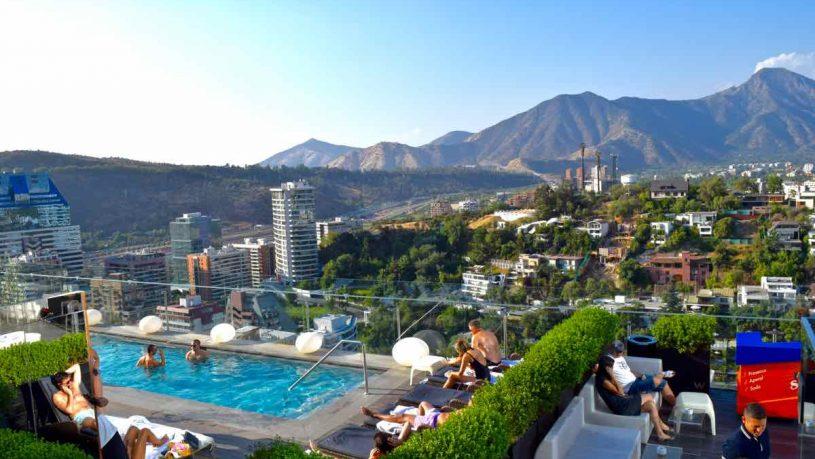W Hotel Santiago Rooftop Pool
