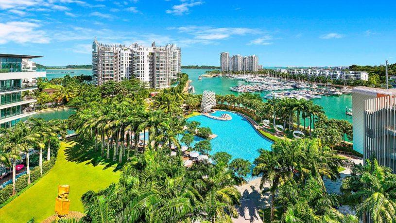 W Singapore Sentosa Cove Panorama