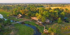 Xigera Safari Lodge, Moremi Reserve