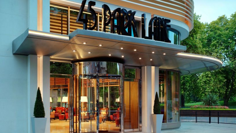 45 Park Lane Dorchester Collection Entrance