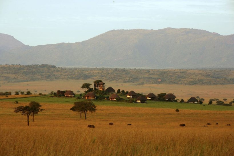 Apoka Safari Lodge Panorama