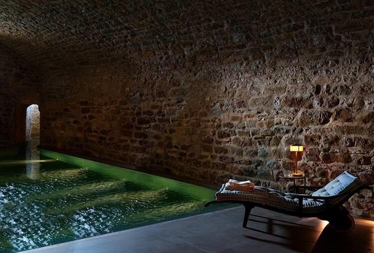 Castello di Reschio Umbria Bathhouse Pool