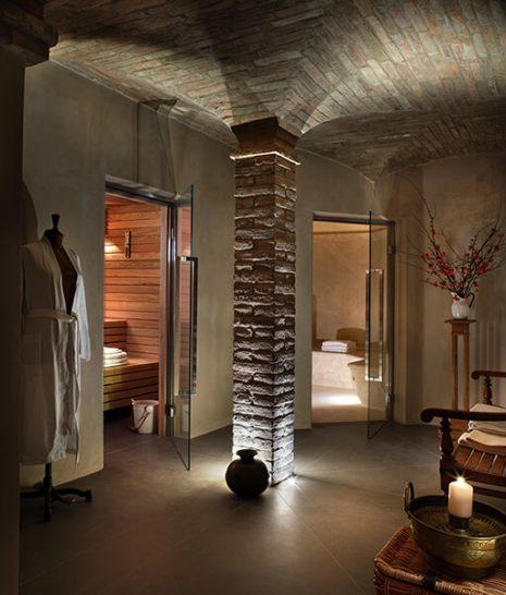 Castello di Reschio Umbria Bathhouse Sauna