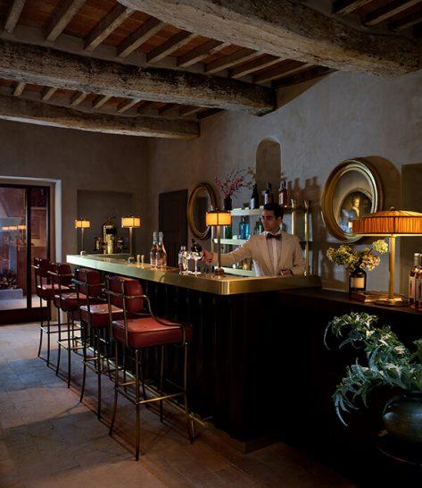 Castello di Reschio Umbria Palm Court Bar