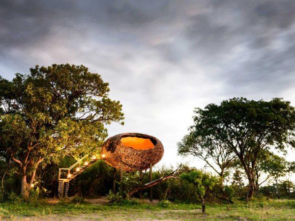 Chisa Busanga Camp Zambia Exterior