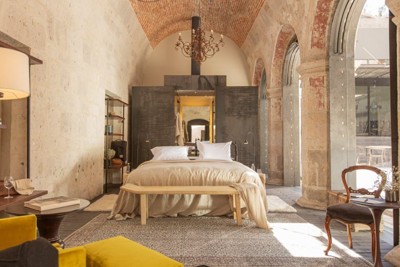 Cirqa Relais Chateaux Boveda Room