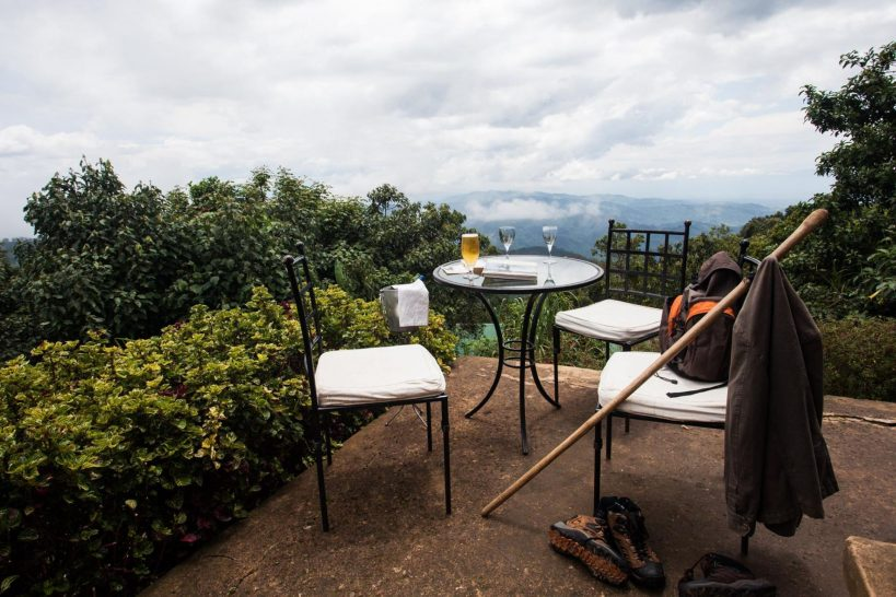 Clouds Mountain Gorilla Lodge Outdoor Dining