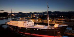 Fingal Luxury Floating Hotel, Edinburgh