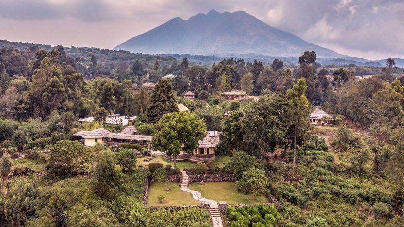 Mount Gahinga Lodge Uganda Panorama