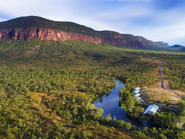 Mount Mulligan Lodge Queensland Panorama