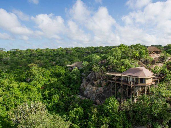Mwiba Lodge Tanzania Suites Exterior