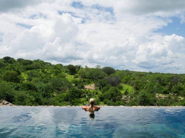Mwiba Lodge Tanzania Pool
