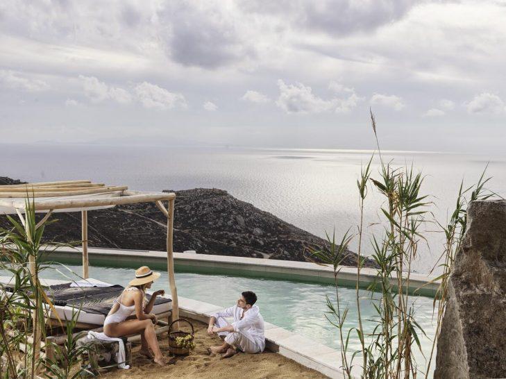 Myconian Panoptis Escape Mykonos Pool One Bedroom Villa Panoramic View
