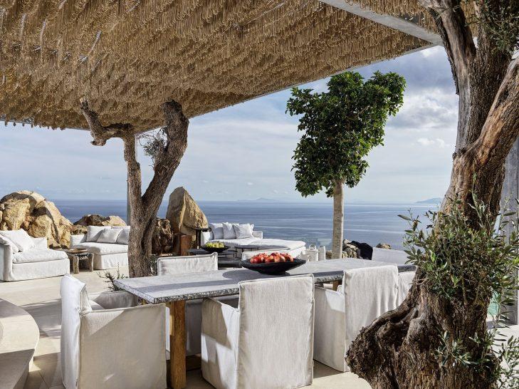 Myconian Panoptis Escape Mykonos Two Bedroom Villa Dining