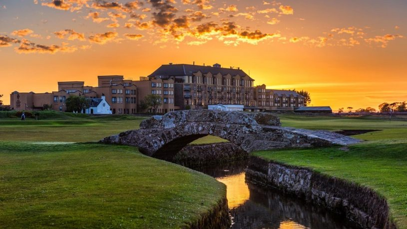 Old Course Hotel St Andrews Sunset