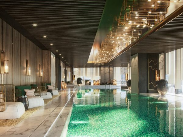 Raffles Shenzhen Pool