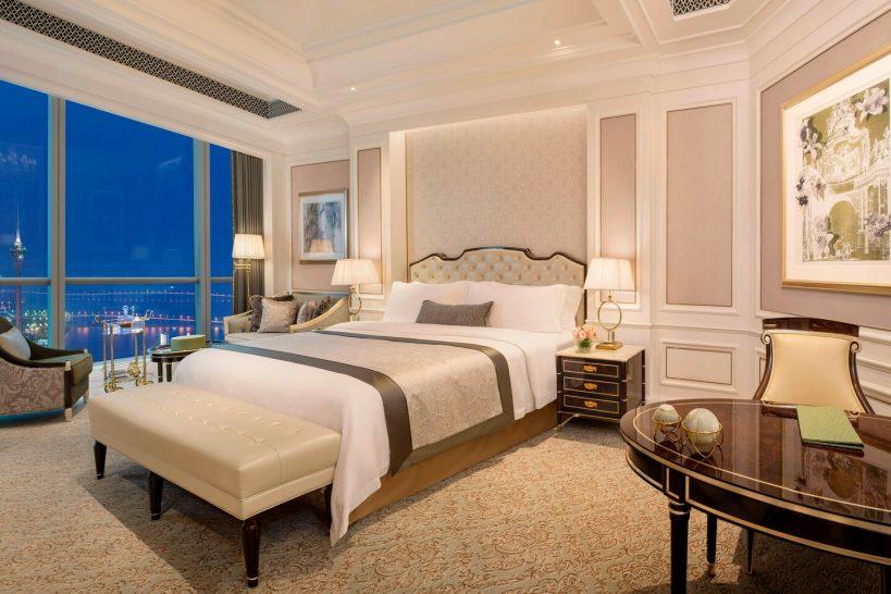 The St. Regis Zhuhai Oceanview Bedroom