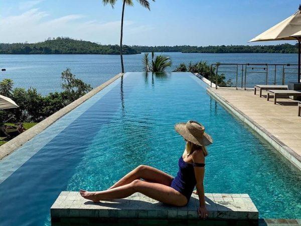 Tri Lanka Hotel Koggala Pool