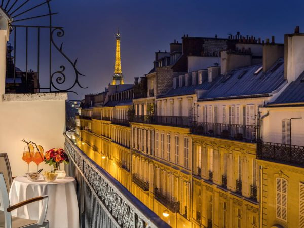 Hotel Splendide Royal Paris Elysee Suite Terrace