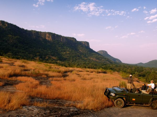 Mahua Kothi Taj Safari Lodge Game Drive