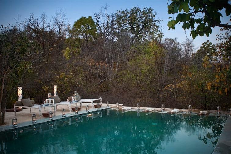 Pashan Garh Taj Safari Lodge Pool