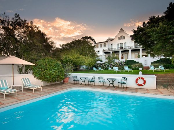 The Cellars Hohenort Hotel Pool Cape Town