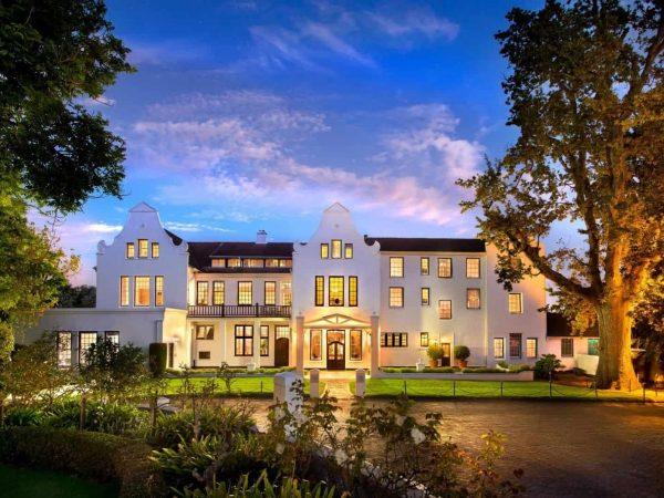 The Cellars Hohenort Hotel Sunset Cape Town