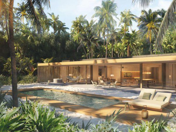 Patina Maldives Fari Islands 2 Bedroom Pool Beach Villa
