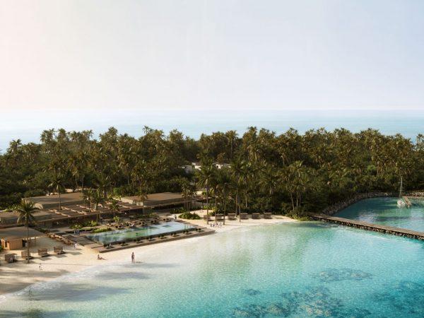 Patina Maldives Fari Islands Aerial