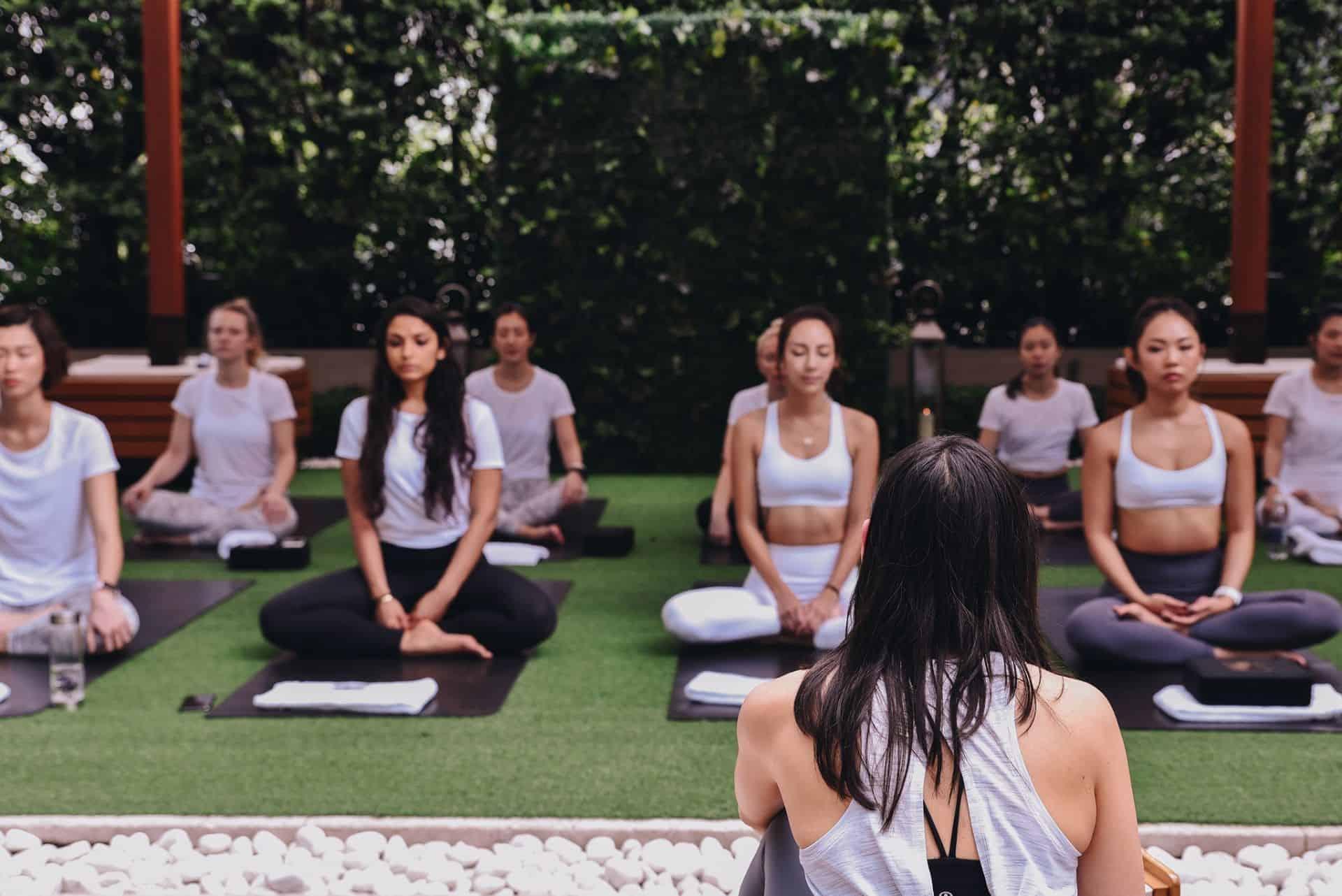 The Upper House Hong Kong Yoga