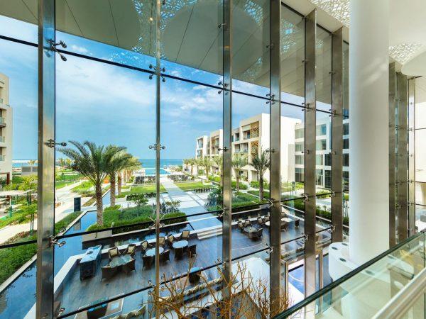 Kempinski Hotel Muscat Lobby View