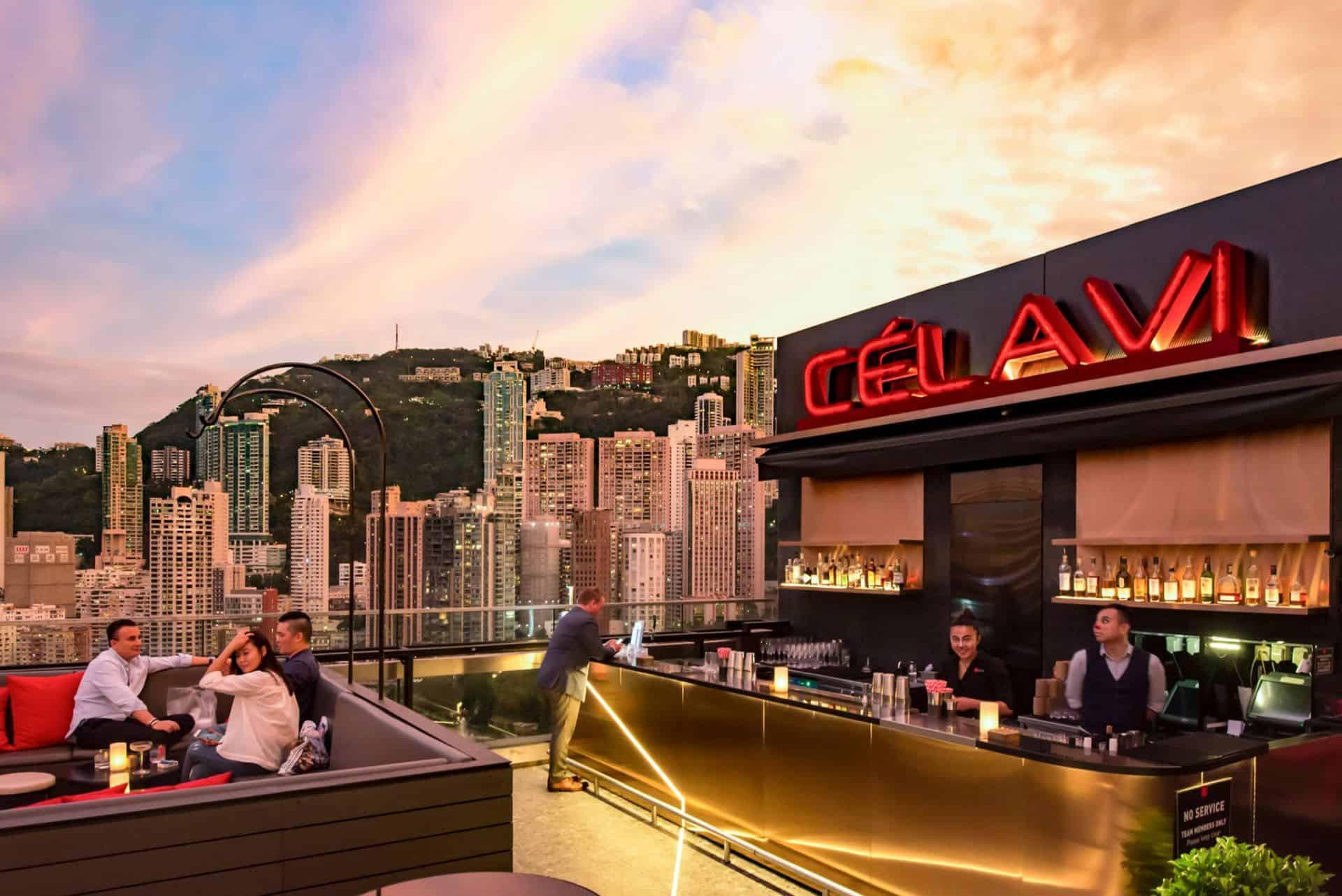 Ce La Vi Rooftop Bar Hong Kong