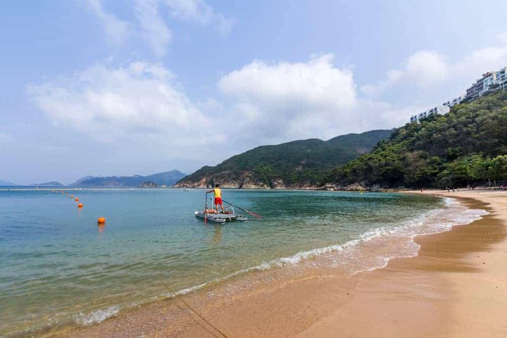 Chung Hom Kok Beach Stanley Hong Kong