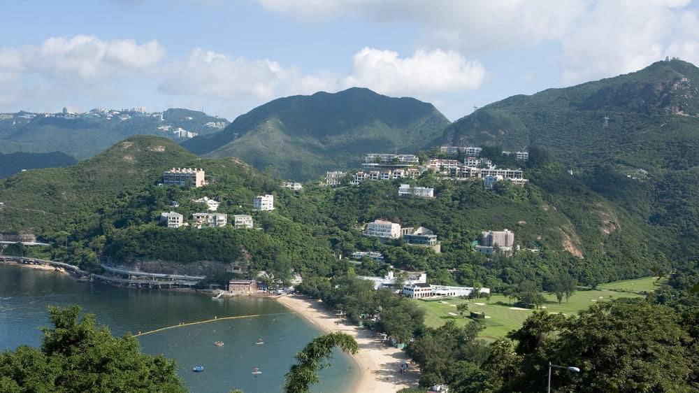 Deep Water Bay Hong Kong Panorama