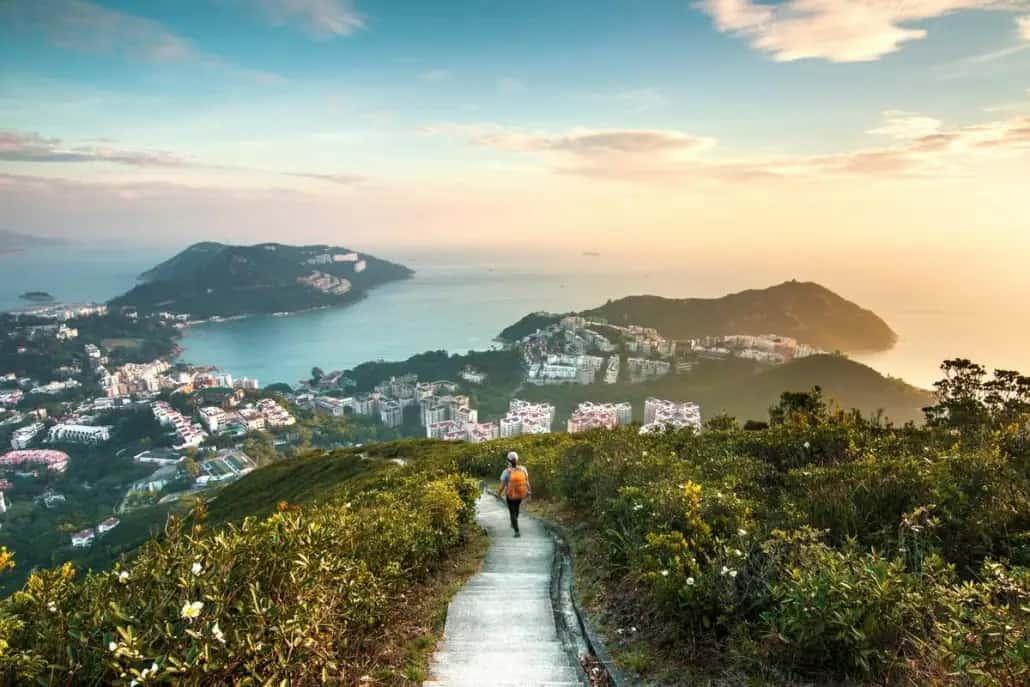 Hike to Stanley Hong Kong