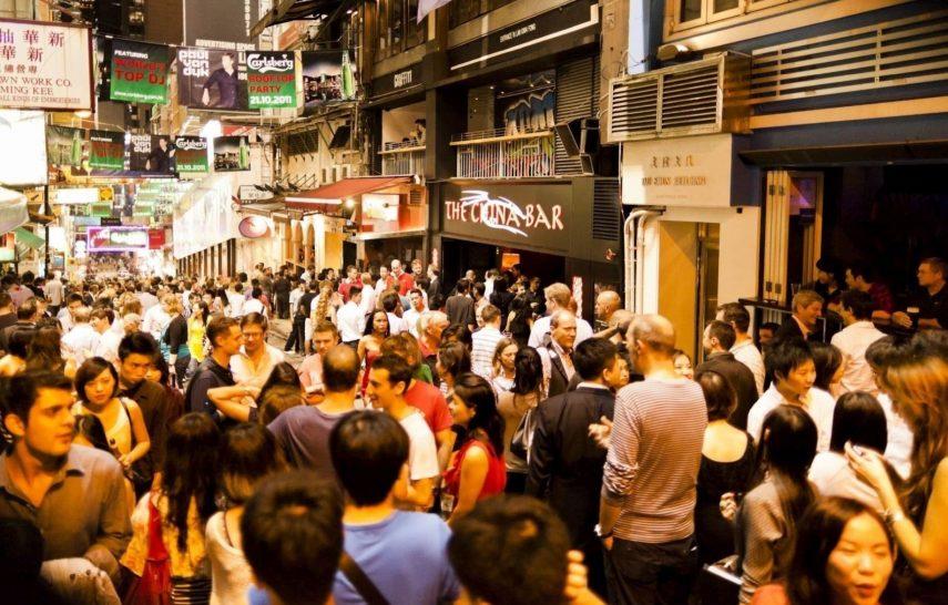 Lan Kwai Fong Hong Kong Nightlife