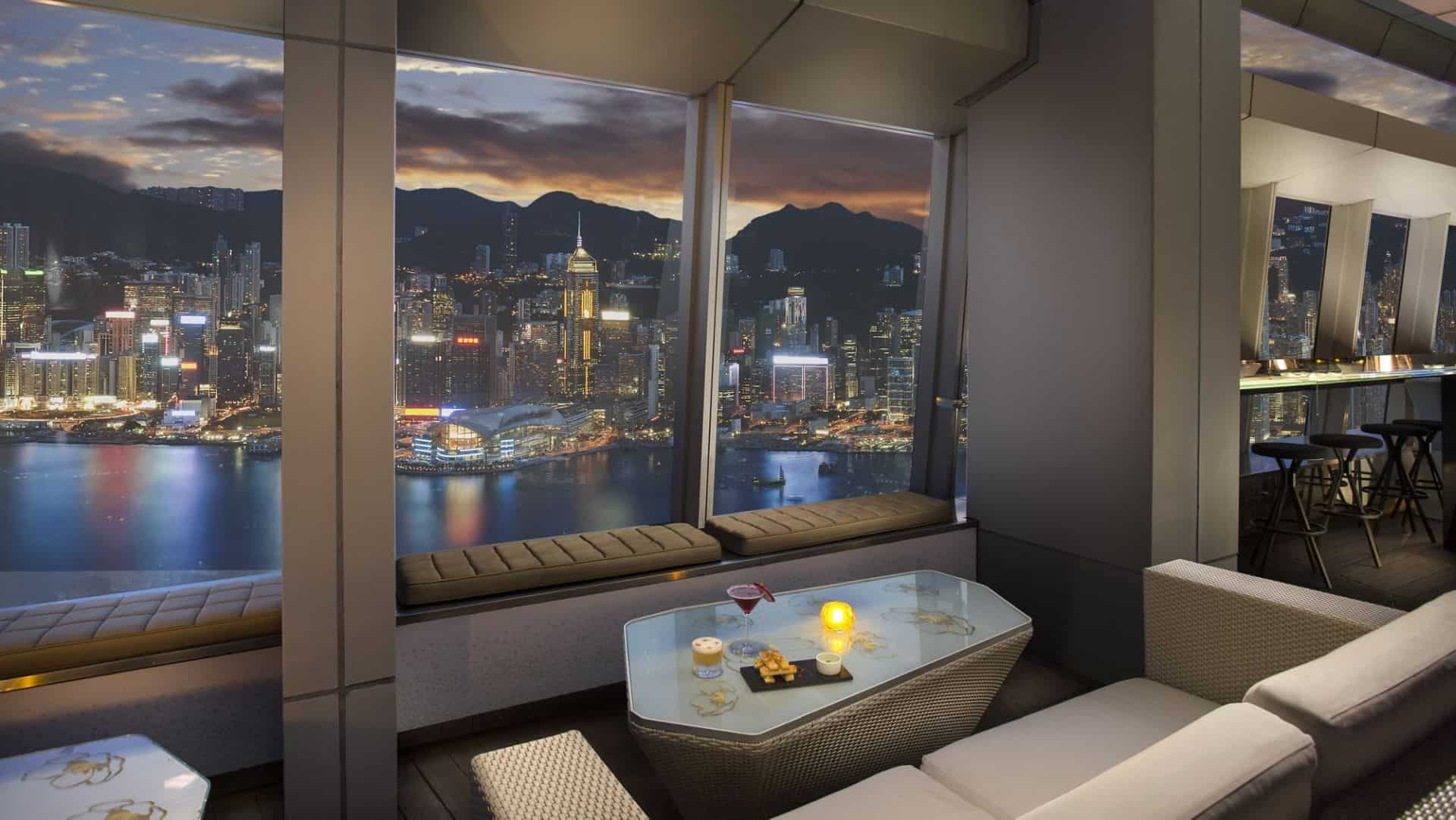 Ozone Bar View Ritz Carlton Hong Kong