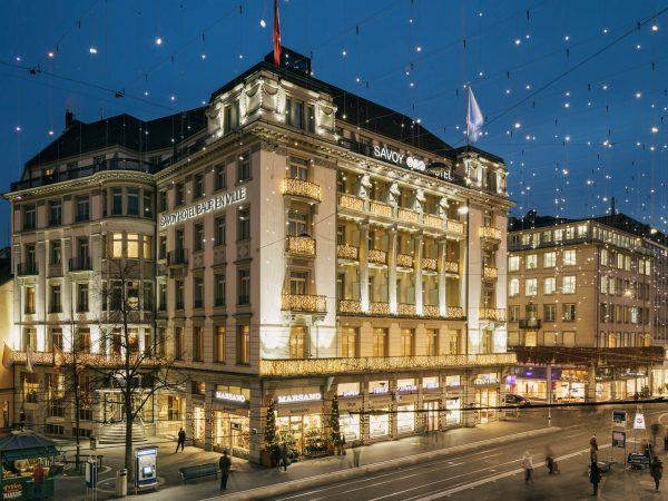 Savoy Baur en Ville Hotel Zurich Exterior