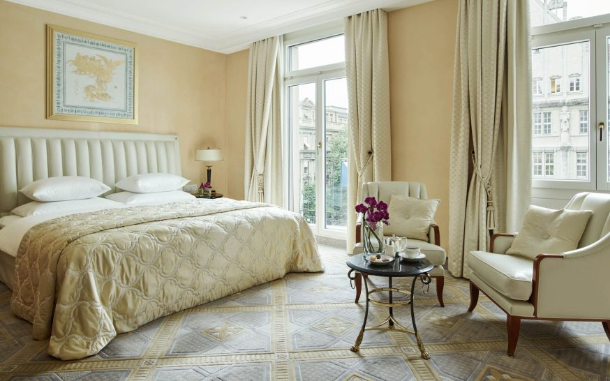 Savoy Baur en Ville Hotel Zurich Luxury Double Room
