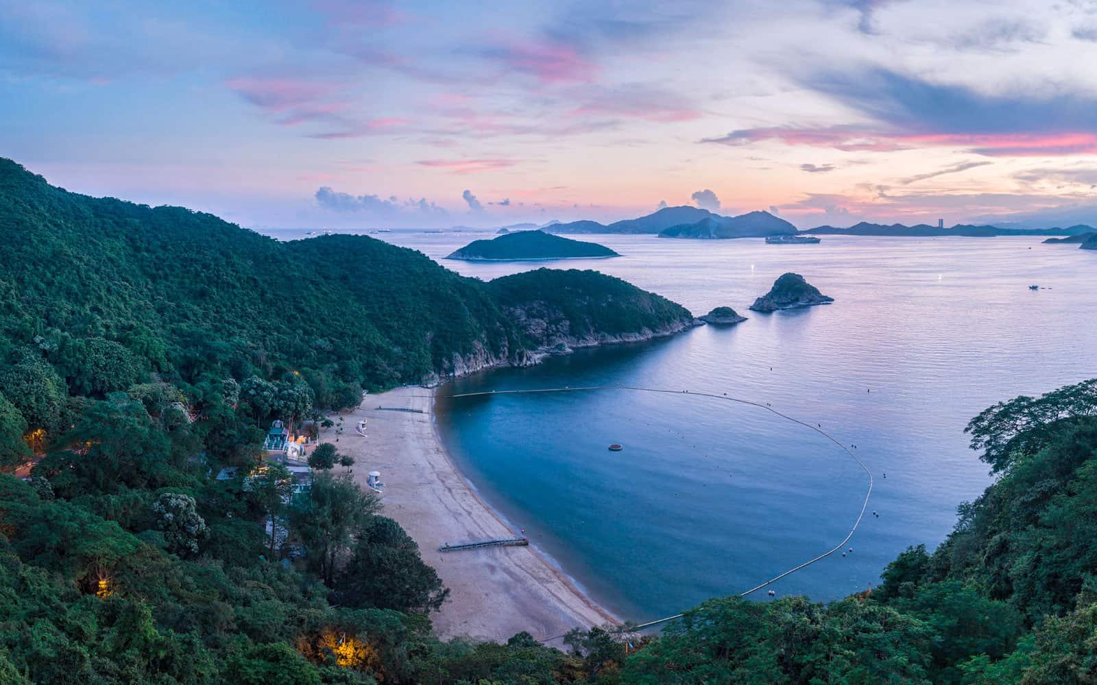 South Bay Beach Hong Kong