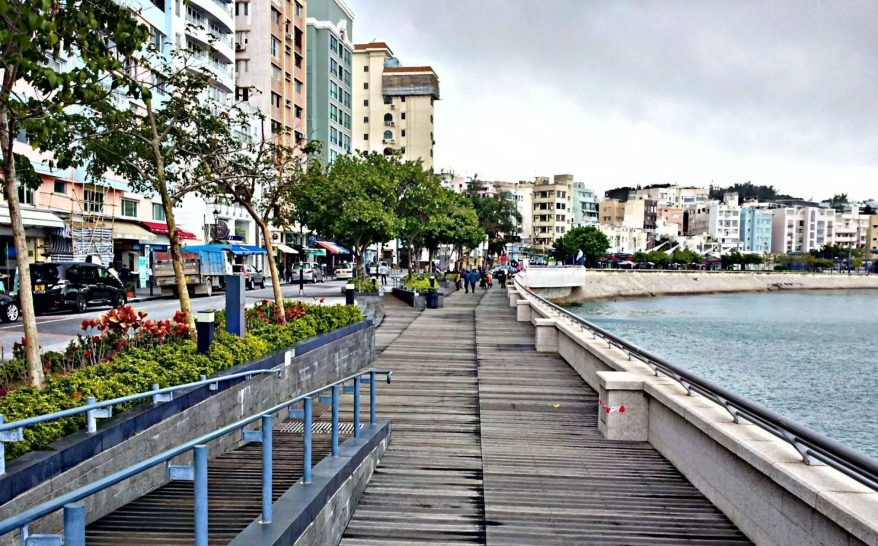 Stanley Market Boardwalk Hong Kong