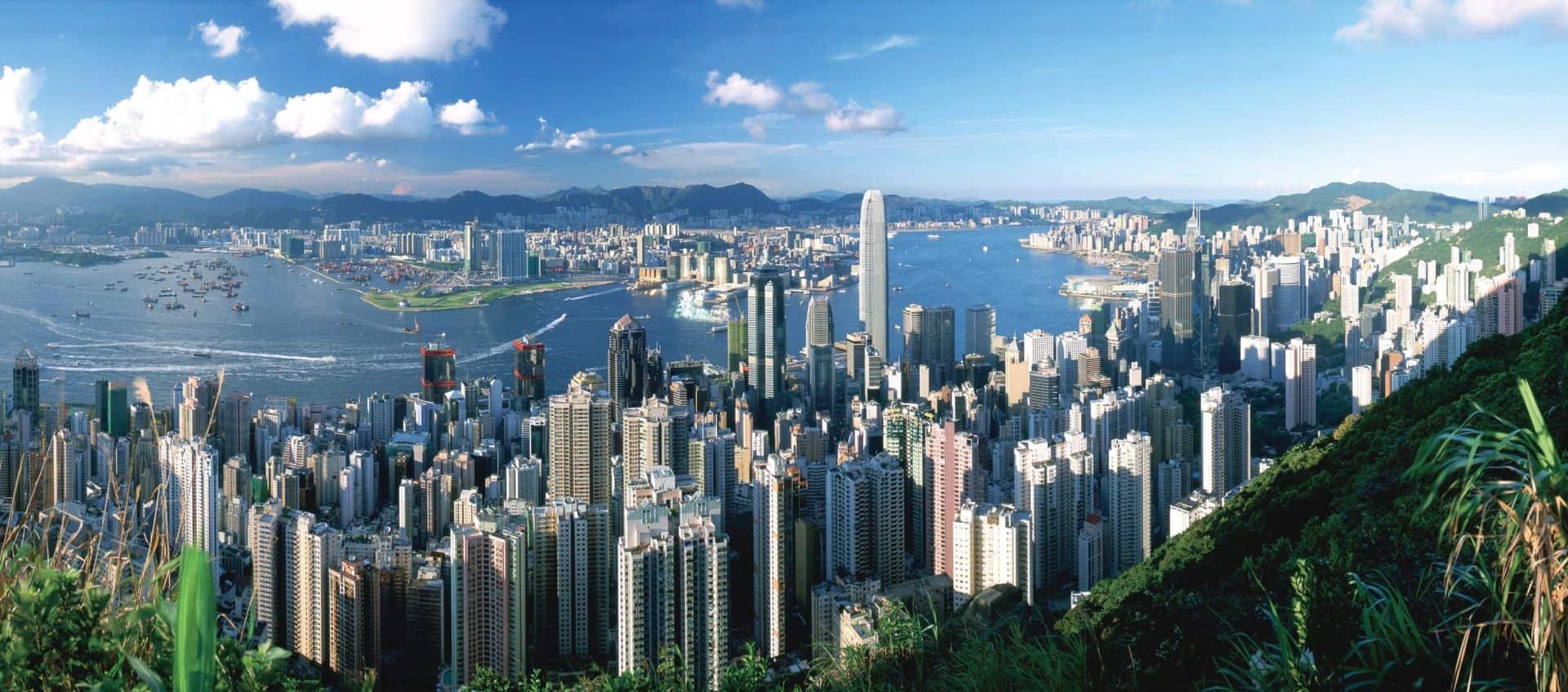 Victoria Peak View Hong Kong