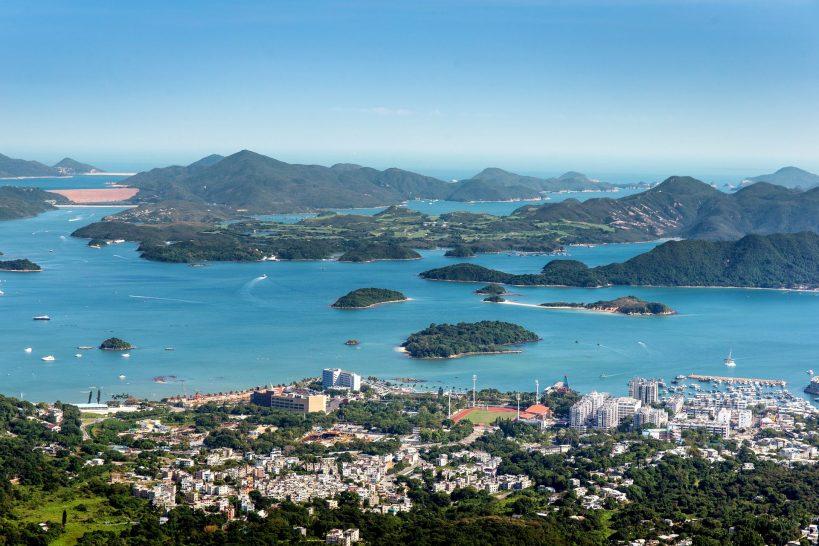 View of Sai Kung Hong Kong