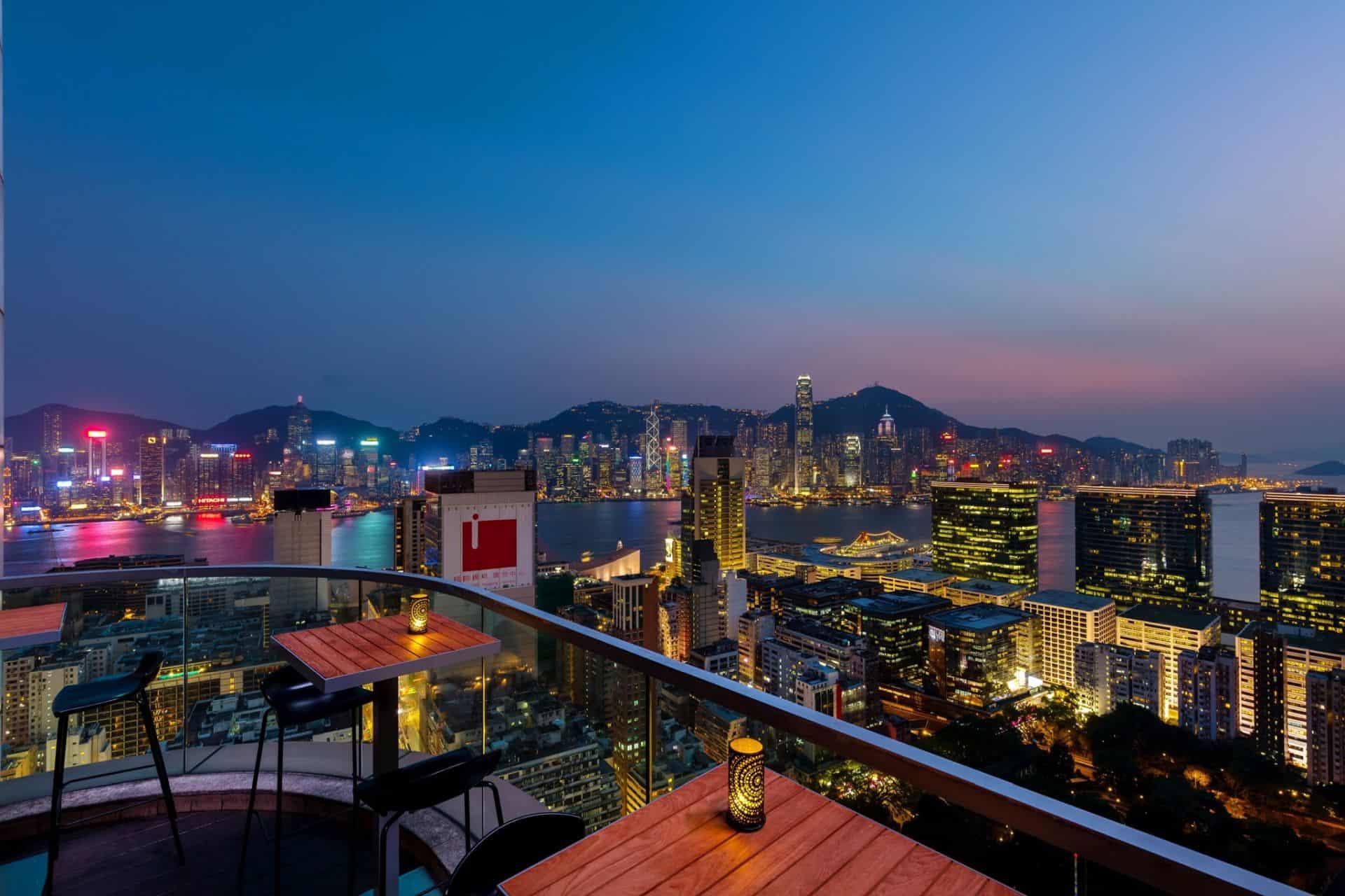 Wooloomooloo Prime Terrace View Hong Kong