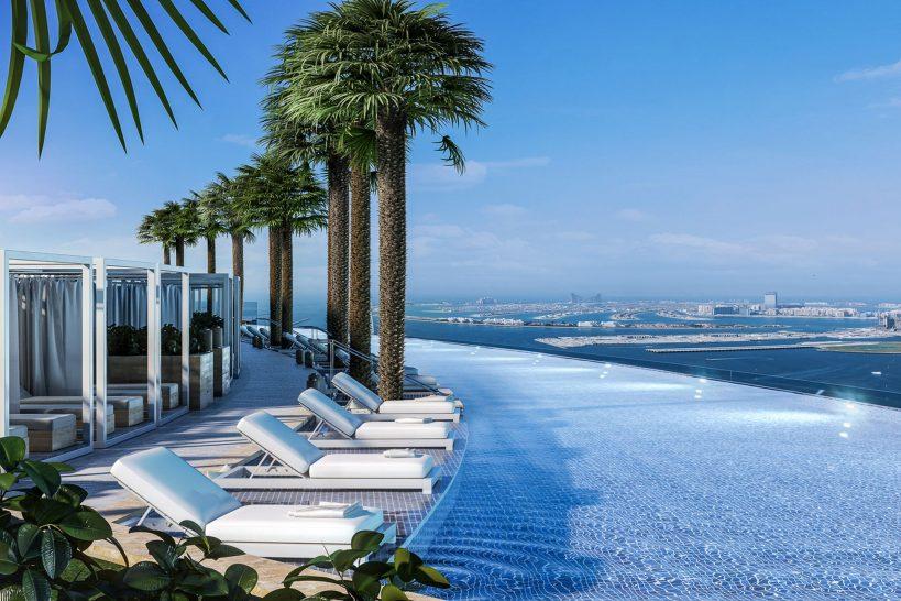 Address Beach Resort Dubai Pool
